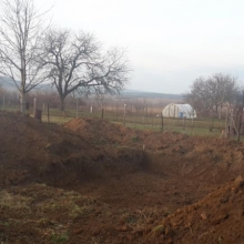 Výkop Radošina- Bzince